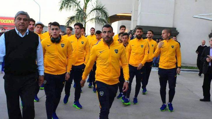 Boca Juniors llegó a Formosa y desató la euforia de sus seguidores.